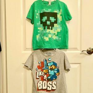 Boys Minecraft Shirts
